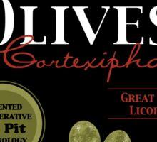 Olives in Cortexiphan Sticker
