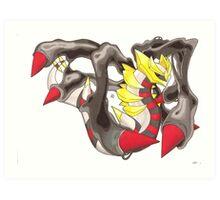 Giratina Art Print