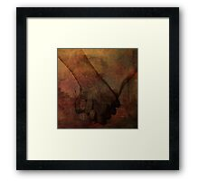 Almost Human Framed Print