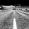 OPEN ROADS in Black and White or Sepia