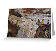 Rocky River Fall Greeting Card