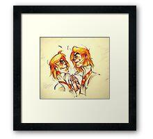 Weasley Twins Framed Print