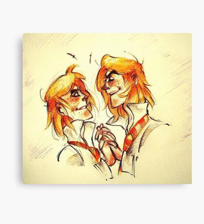 Weasley Twins Canvas Print