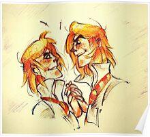 Weasley Twins Poster