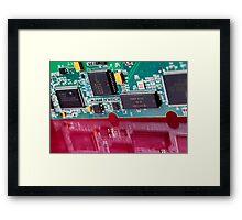 Computer cardboard Framed Print