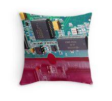 Computer cardboard Throw Pillow