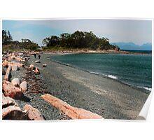 Nanaimo - Pipers Lagoon - The Beach Poster