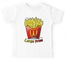 Maze Shirts: Large Fries Kids Tee