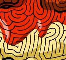 Maze Shirts: Spaghetti 'n Meatballs! Sticker
