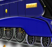 Mallard the Fastest Steam Locomotive T-shirt, etc. design Sticker