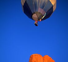 Hot Air Balloon Monument Valley by Bob Christopher