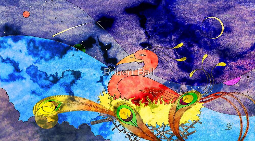 Nesting Phoenix by Robert Ball