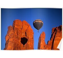 Hot Air Balloon Monument Valley 2 Poster