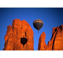 Hot Air Balloon Monument Valley 2 Photographic Print