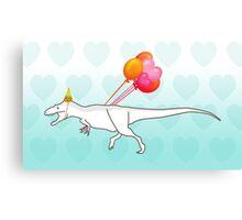 Party Daspletosaurus desperatus Canvas Print