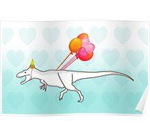 Party Daspletosaurus desperatus Poster
