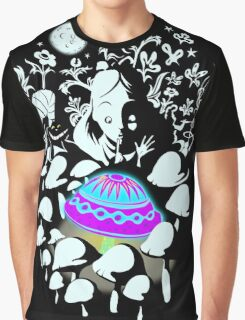 alice in fungi land Graphic T-Shirt