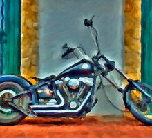 Harley Davidson oil by oreundici