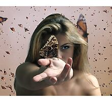 I, Butterfly. Photographic Print