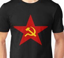 Communist Star Hammer And Sickle Unisex T-Shirt