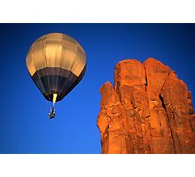 Hot Air Balloon Monument Valley 4 Photographic Print