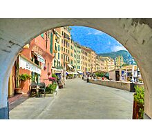 Camogli Walk Photographic Print
