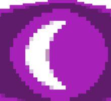 Pixel Moon Sticker