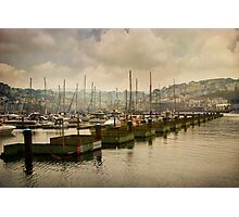 Brixham Marina Photographic Print