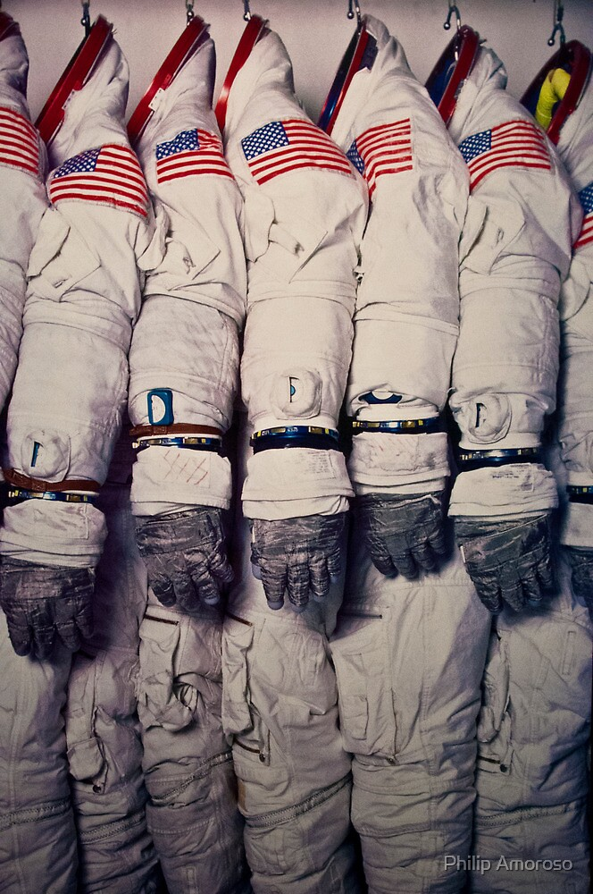Space Suits by Philip Amoroso