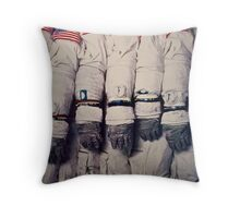 Space Suits Throw Pillow
