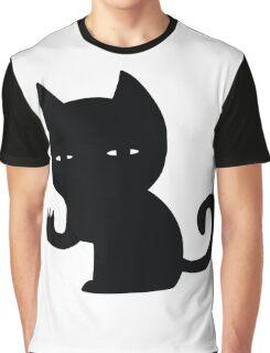 Creepy Cat Graphic T-Shirt
