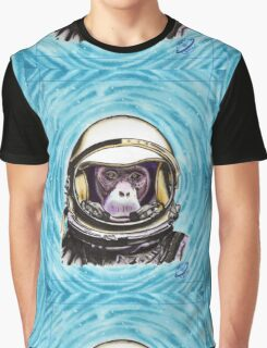 Space Monkey Graphic T-Shirt