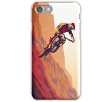 retro style mountain bike poster: Good to the Last Drop iPhone Case/Skin