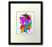 Pen and Black Ink  Framed Print