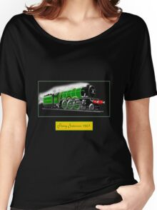 Steam Locomotive - The Flying Scotsman 1923 Women's Relaxed Fit T-Shirt