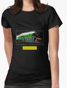 Steam Locomotive - The Flying Scotsman 1923 Womens Fitted T-Shirt