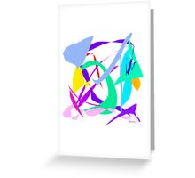 Jet Clouds  Greeting Card