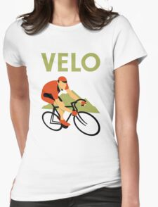 Retro art deco design cycling velo T-Shirt