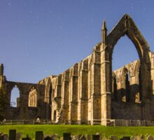 Bolton Abbey Under Moonlight 5574 Sticker