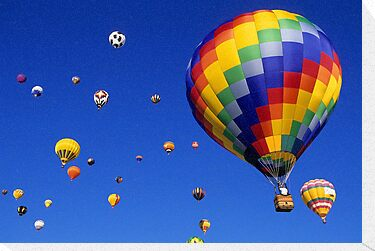 Hot Air Balloons Albuquerque by Bob Christopher
