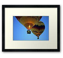 Hot Air Balloons New Mexico Framed Print