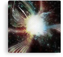 Brightly Coloured Space Nebula Canvas Print