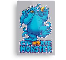 CTHOOKIE MONSTER Metal Print
