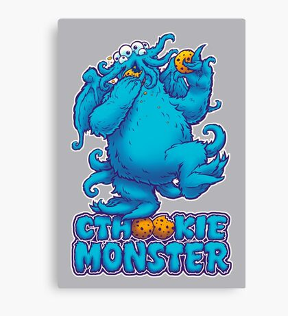 CTHOOKIE MONSTER Canvas Print