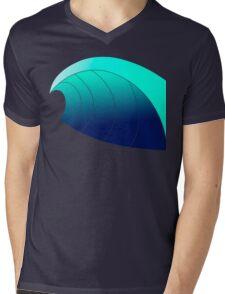 Surf Wave Mens V-Neck T-Shirt