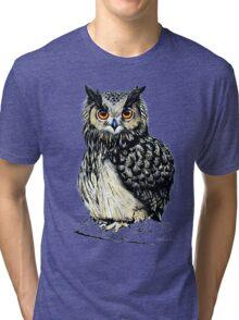 Eagle Owl Tri-blend T-Shirt