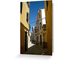 Mahon, Menorca Greeting Card
