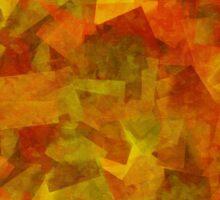 Fall/Autumn Fragments Sticker