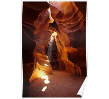 Antelope Canyon Ray Of Hope Poster