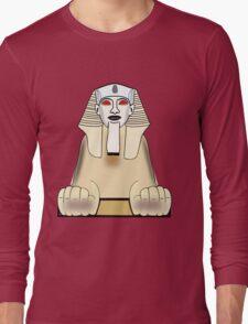 The Sphinx at Gaza, Egypt Long Sleeve T-Shirt